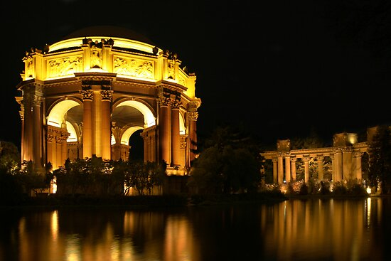 Palace of Fine Arts by Christophe Testi