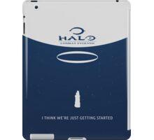 Minimalist Halo Combat Evolved Poster iPad Case/Skin