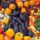 Cornucopia-Farmers market in Santa Barbara by Eyal Nahmias