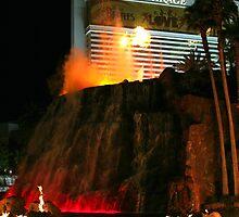 Vegas Volcano by Daniel J. McCauley IV