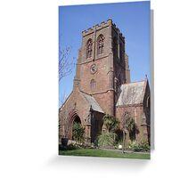 St Nicholas Church Whitehaven Greeting Card