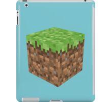 Blockcraft - grass iPad Case/Skin