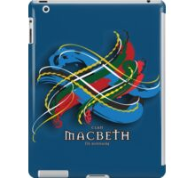 Macbeth Tartan Twist iPad Case/Skin