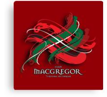 MacGregor Tartan Twist Canvas Print