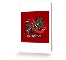 MacGregor Tartan Twist Greeting Card