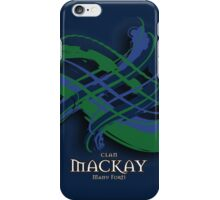 MacKay Tartan Twist iPhone Case/Skin