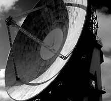 Goonhilly Radio Telescope  by SWEEPER