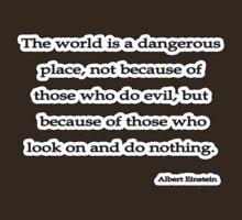 World is, Albert Einstein  T-Shirt