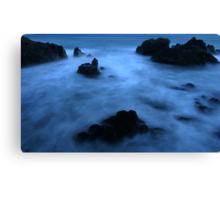 Kennack sands bay in Cornwall  Canvas Print