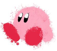 Kirby Splatter ~ ☆ by mixiemoon