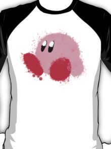 Kirby Splatter ~ ☆ T-Shirt
