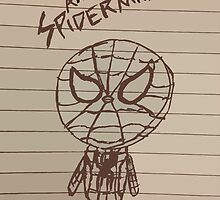 Simple Spidey Sketch (Original) by Eastwick