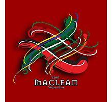 MacLean Tartan Twist Photographic Print