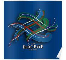 MacRae Tartan Twist Poster