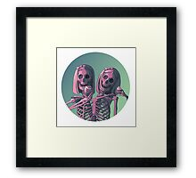 Siamese Twins  Framed Print