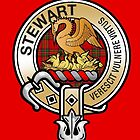 Stewart Clan Crest by eyemac24