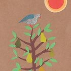 Partridge in a pear tree by Sandy Mitchell