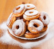 sweet doughnuts or donuts with holes  by Arletta Cwalina
