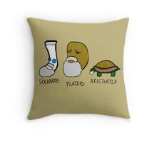 Philostuffers Throw Pillow