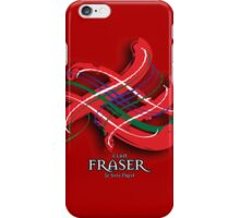 Fraser Tartan Twist iPhone Case/Skin