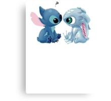 Fizz and Stitch Canvas Print