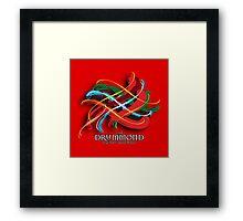 Drummond Tartan Twist Framed Print