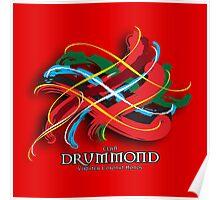 Drummond Tartan Twist Poster