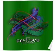 Davidson Tartan Twist Poster