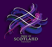 Pride of Scotland Tartan Twist by eyemac24