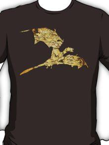 Elder Scrolls Skyrim Map in Dragon Cut-Out T-Shirt