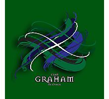 Graham Tartan Twist Photographic Print