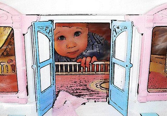 Peek a boo by Jazzyjane