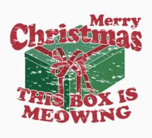 Merry Christmas, The Box Is Meowing by HolidaySwaggC