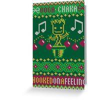 An Ooga Chaka Christmas Greeting Card