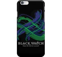 Black Watch Tartan Twist iPhone Case/Skin