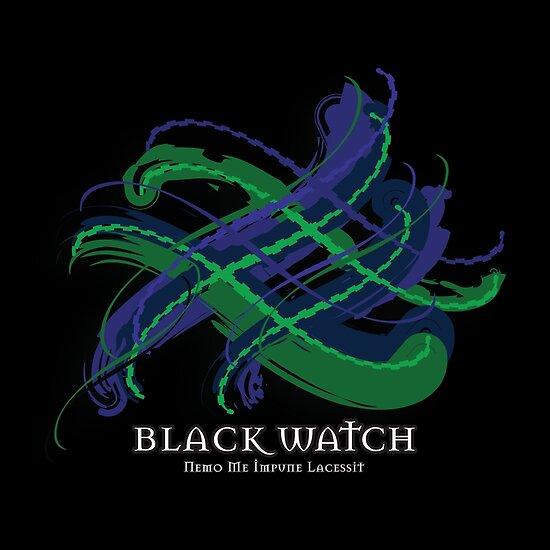 Black Watch Tartan Twist by eyemac24