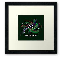 Fergusson Tartan Twist Framed Print