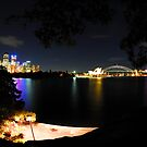 Fisheye view of Sydney by Bill Fonseca