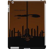 Minimalist Halo 2 Poster iPad Case/Skin