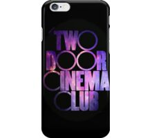 Two Door Cinema Club Galaxy iPhone Case/Skin