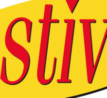 festivus (red) Sticker