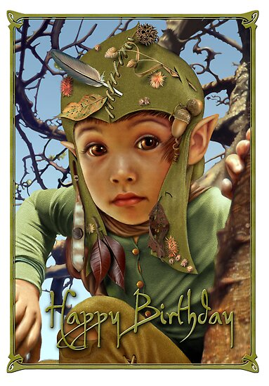 Camouflage birthday card by Ivy Izzard
