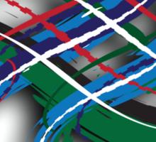 Colquhoun Tartan Twist Sticker