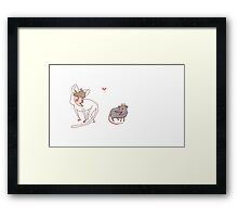 scream at own :V  Framed Print
