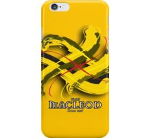 MacLeod Tartan Twist iPhone Case/Skin