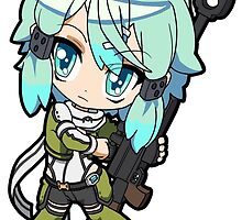 Sword Art Online II - Sinon   by 57MEDIA