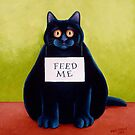 Fat Cat by vickymount