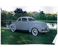1939 Ford Deluxe Coupe Poster