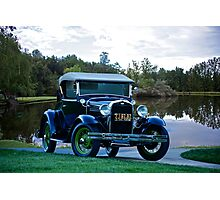1931 Ford Model A 'Rumble Seat' Roadster 1 Photographic Print