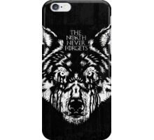 The North Never Forgets iPhone Case/Skin